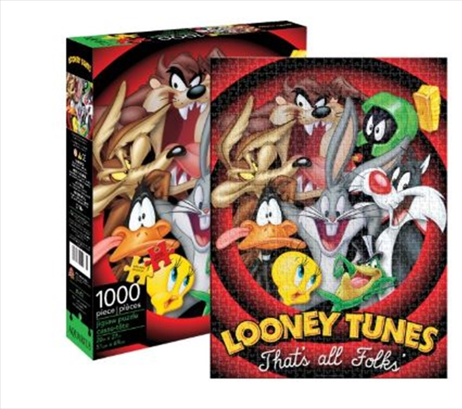 Looney Tunes – That's All Folks 1000 Piece Puzzle   Merchandise