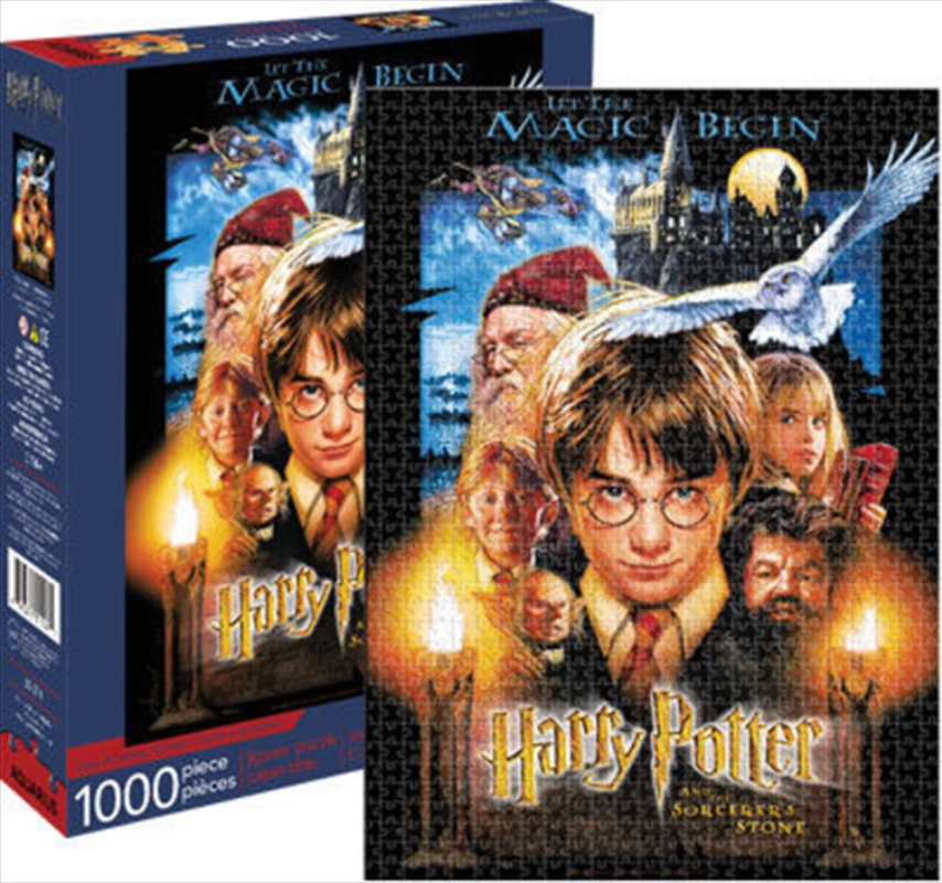 Harry Potter - Sorcerer's Stone 1000pc Puzzle | Merchandise