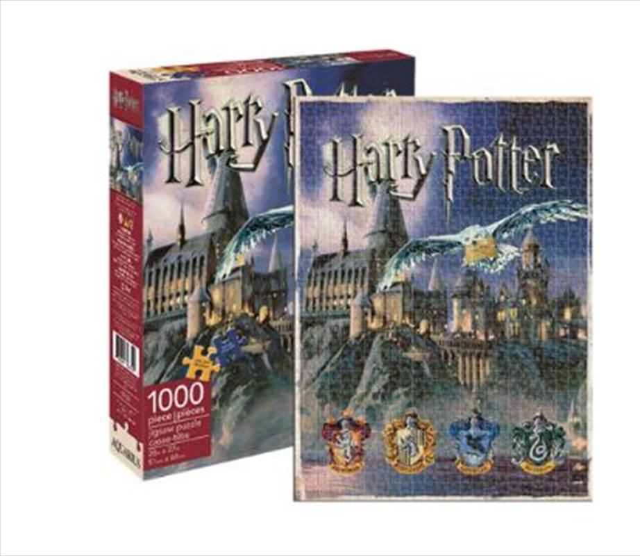 Harry Potter Hogwarts 1000pc Puzzle | Merchandise