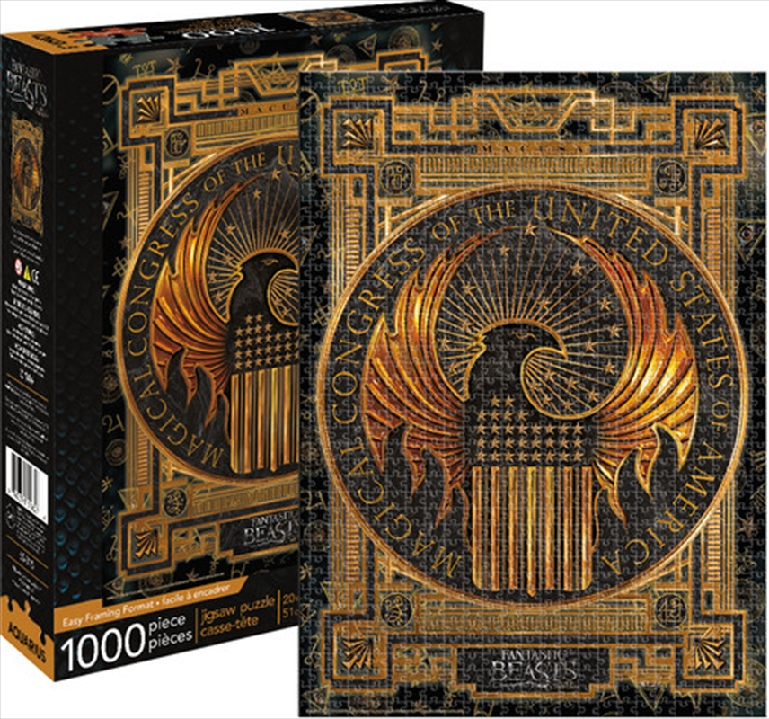 Fantastic Beasts – MACUSA 1000pc Puzzle | Merchandise