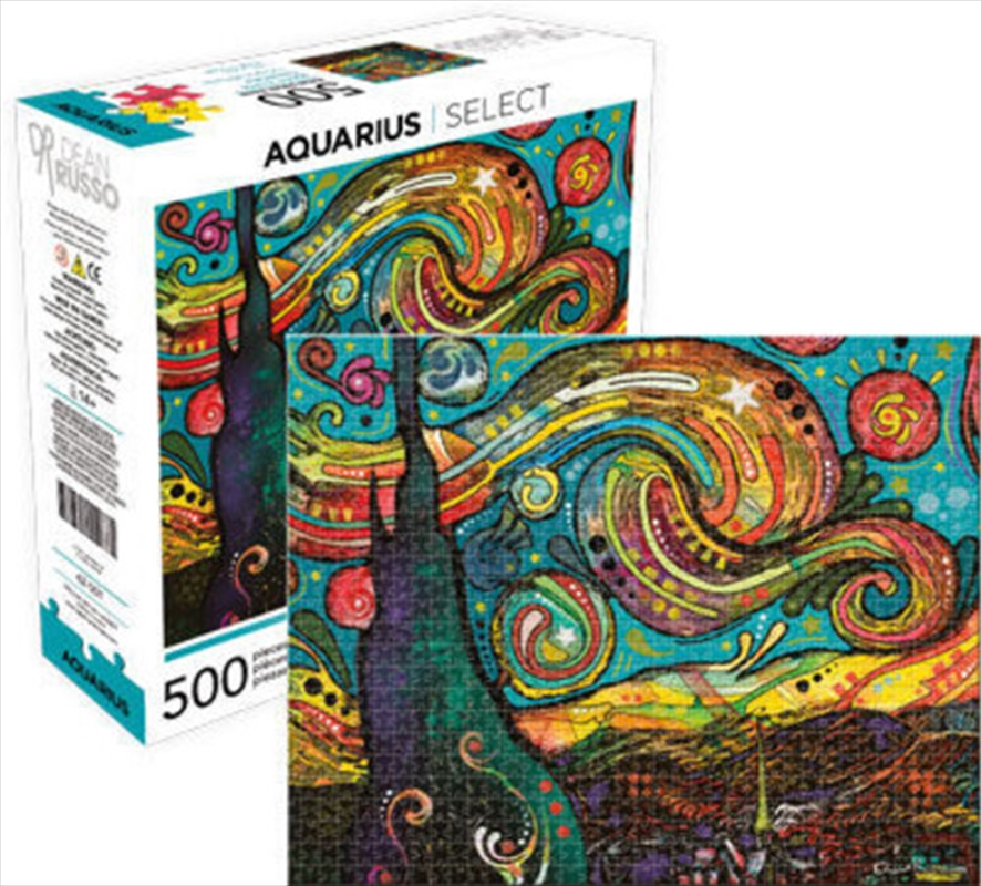 Dean Russo – Starry Night Aquarius Select 500pc Puzzle | Merchandise