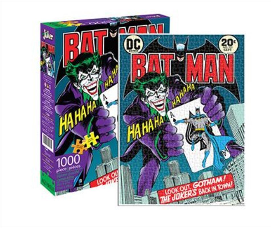 DC Comics – The Joker Comic Cover 1000pc Puzzle | Merchandise
