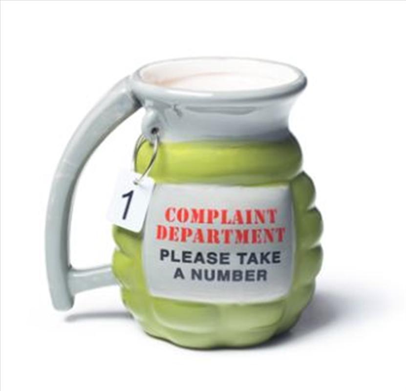 BigMouth Grenade Mug – Take A Number   Miscellaneous
