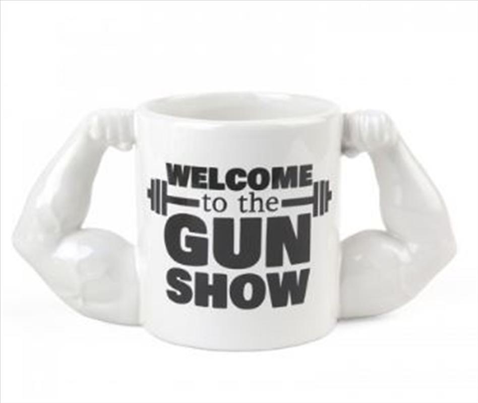 BigMouth Welcome To The Gun Show Mug | Miscellaneous