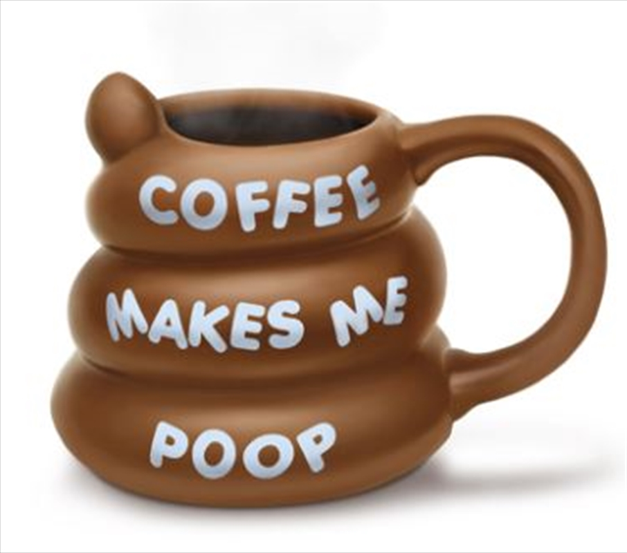 BigMouth Coffee Makes Me Poop Mug | Miscellaneous