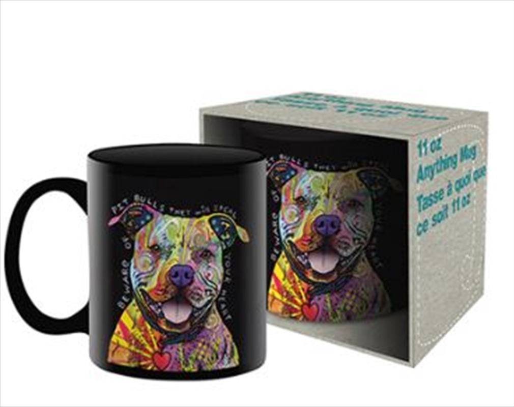 Dean Russo – Pit Bull Ceramic Mug | Merchandise