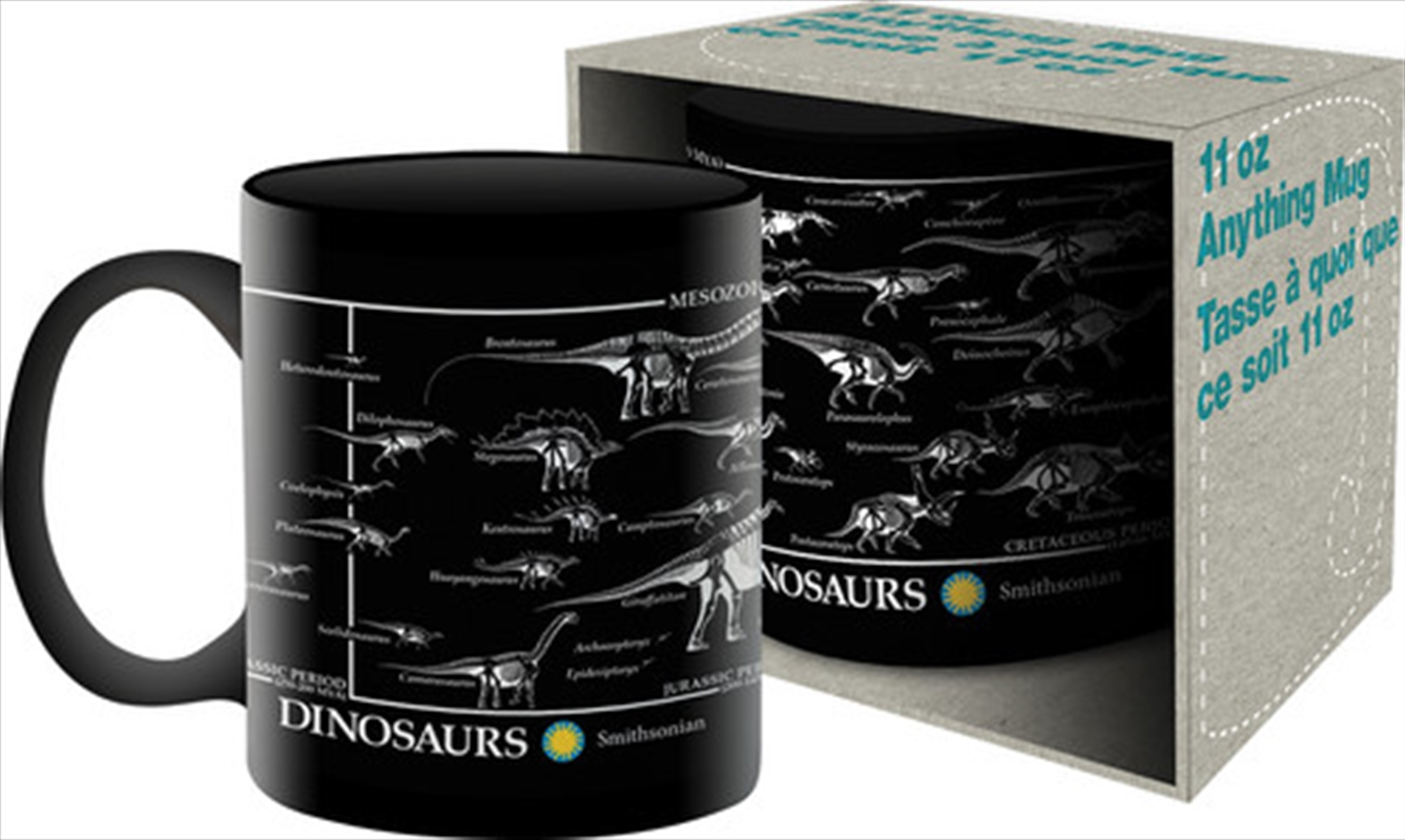 Smithsonian Dinosaurs Skeleton Mug | Merchandise