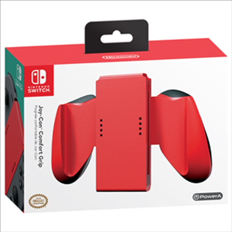 Joycon Comfort Grips - Red | Nintendo Switch