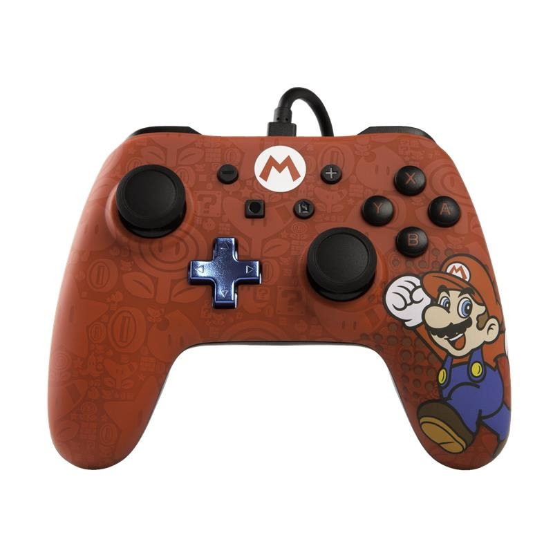 Nintendo Switch Wired Controller Mario Edition | Nintendo Switch