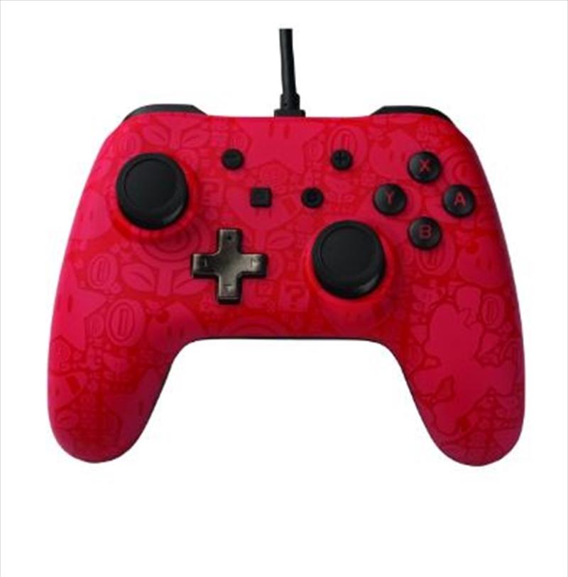 Nintendo Switch Wired Controller Super Mario | Nintendo Switch