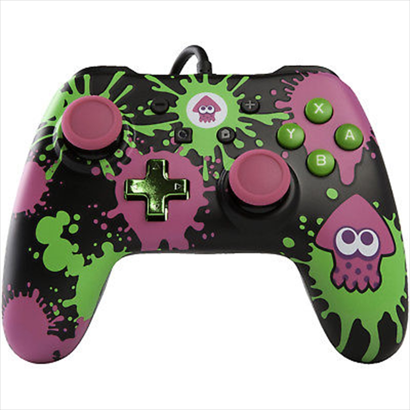 Nintendo Switch Wired Controller Splatoon2 | Nintendo Switch