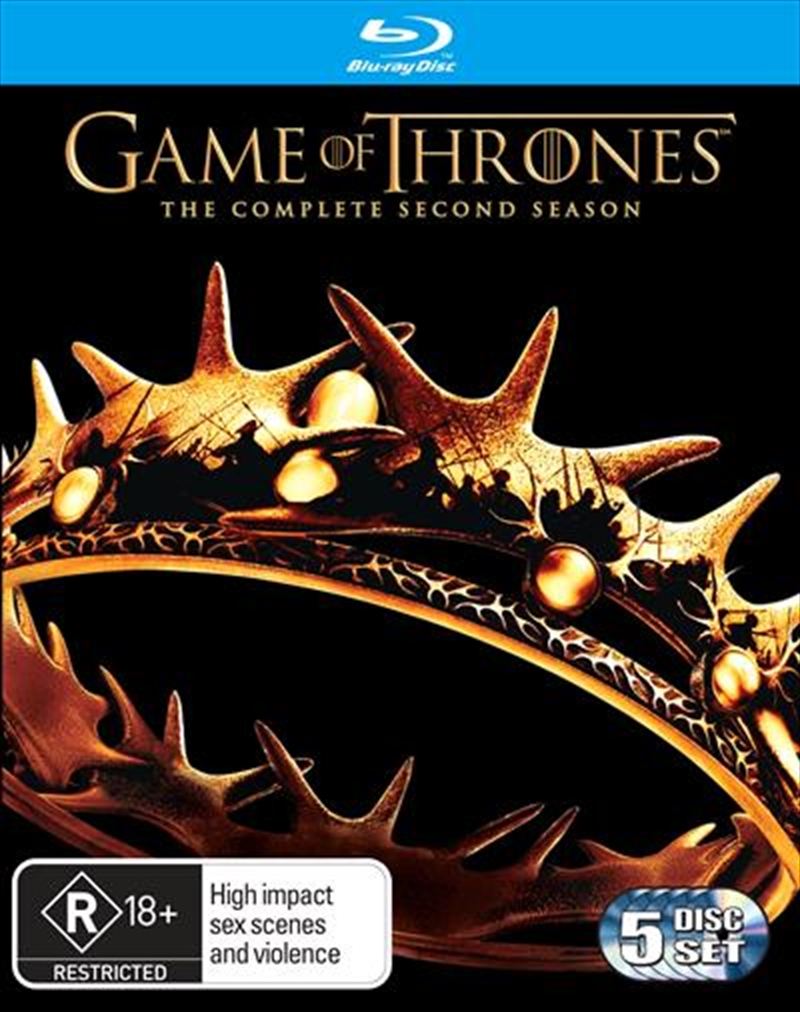 Game Of Thrones - Season 2 | Blu-ray