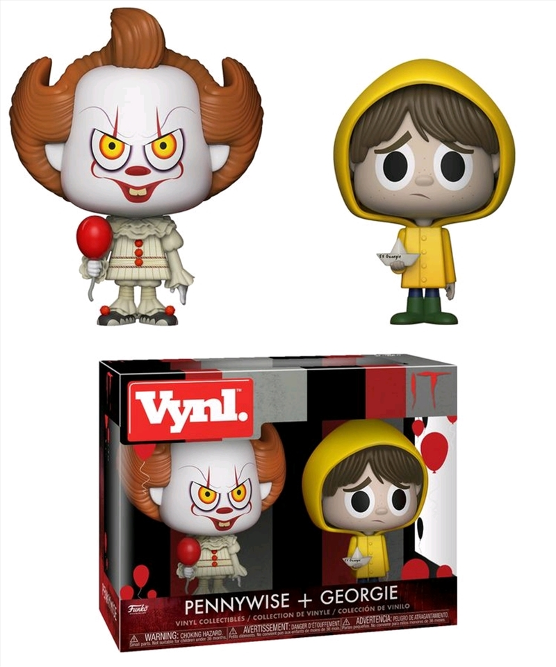 It (2017) - Pennywise & Georgie Vynl | Pop Vinyl