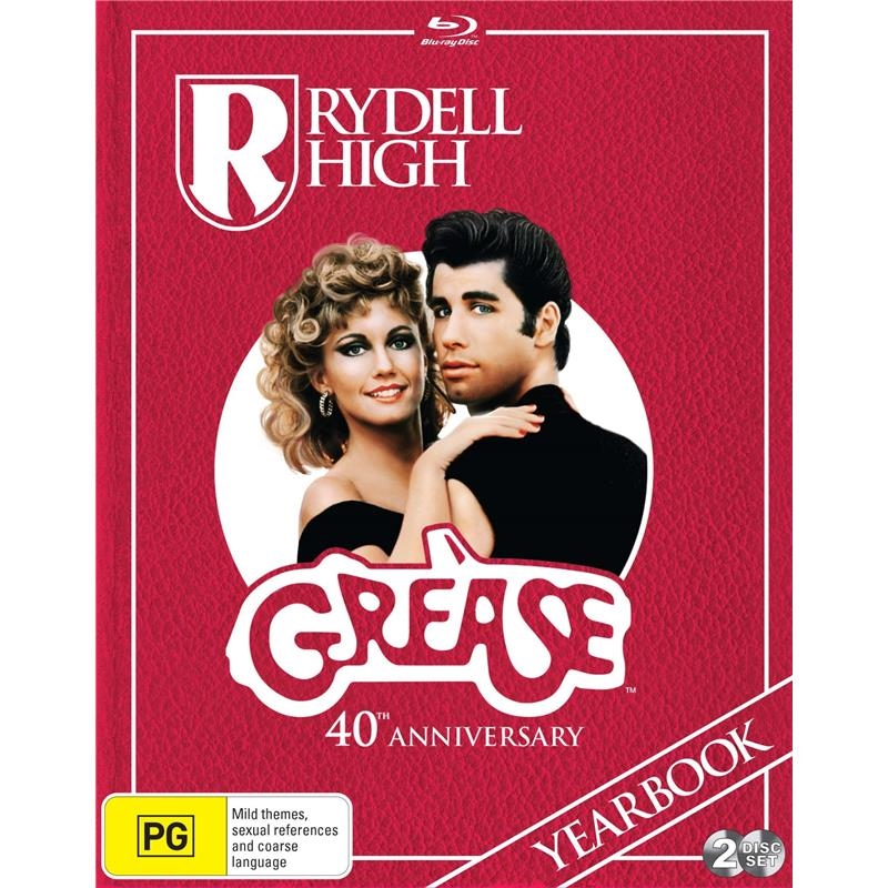 Grease - 40th Anniversary - Deluxe Edition | Blu-ray