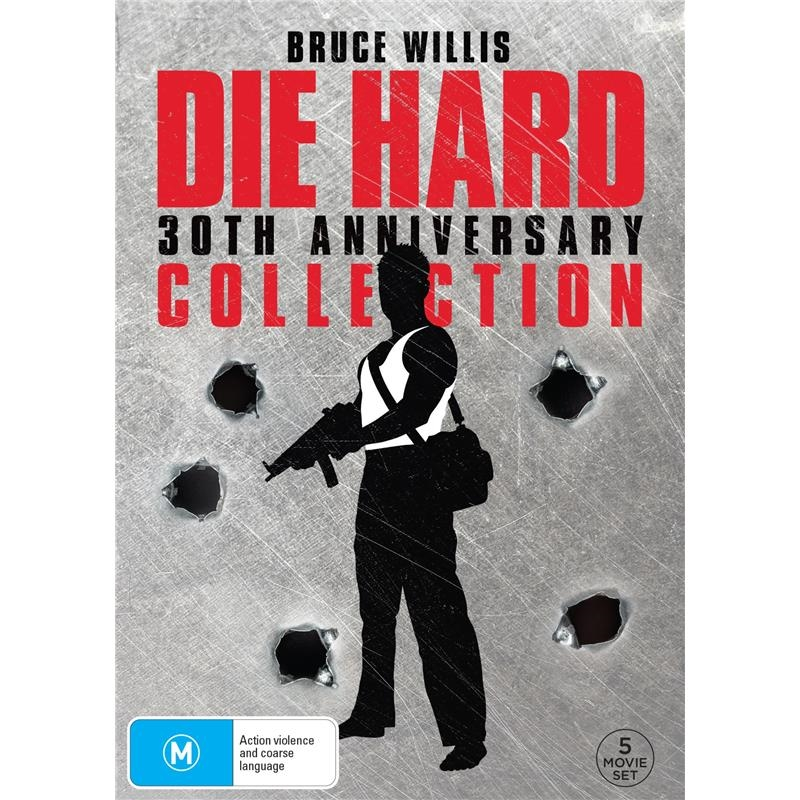 Die Hard  1-5 - 30th Anniversary Collection | DVD