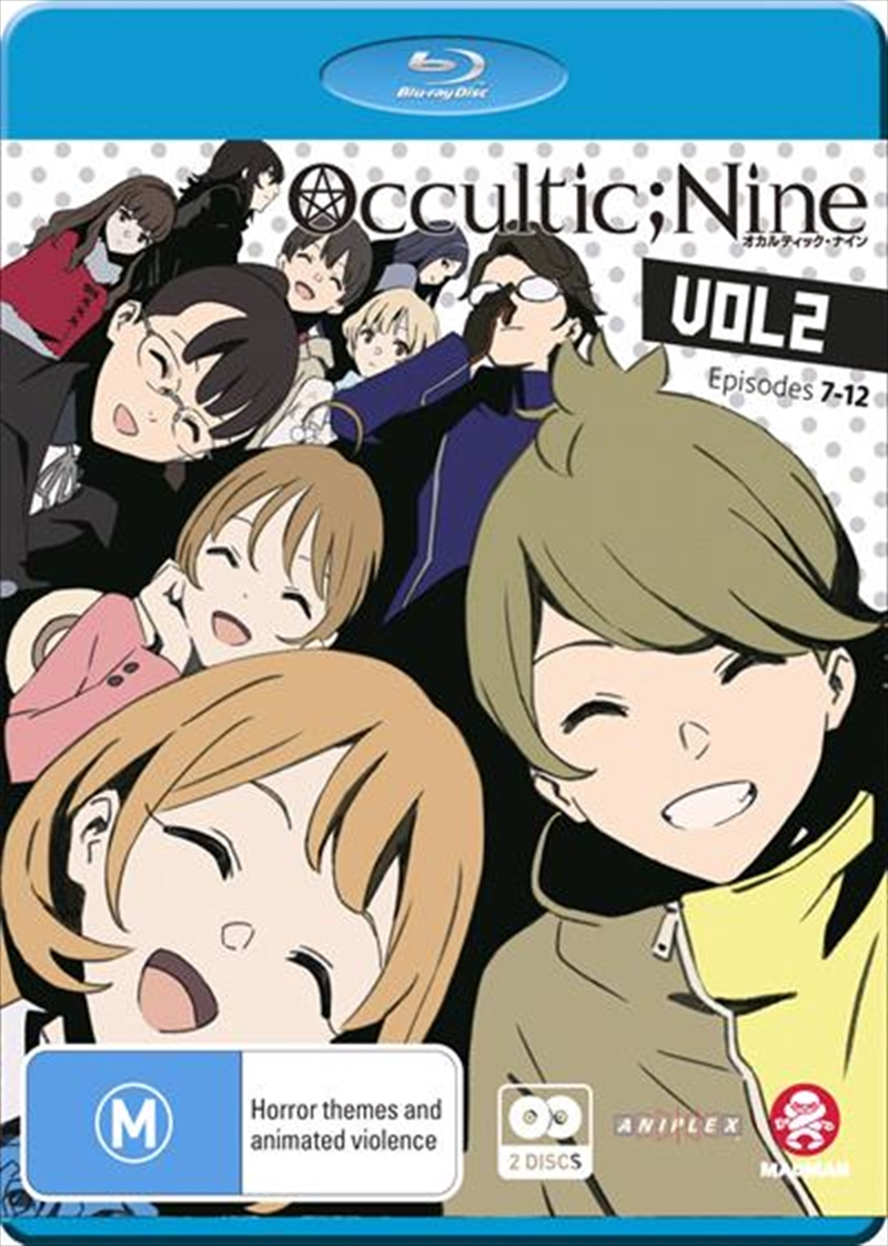 Occultic;Nine - Vol 2 - Eps 7-12 - Limited Edition | Blu-ray