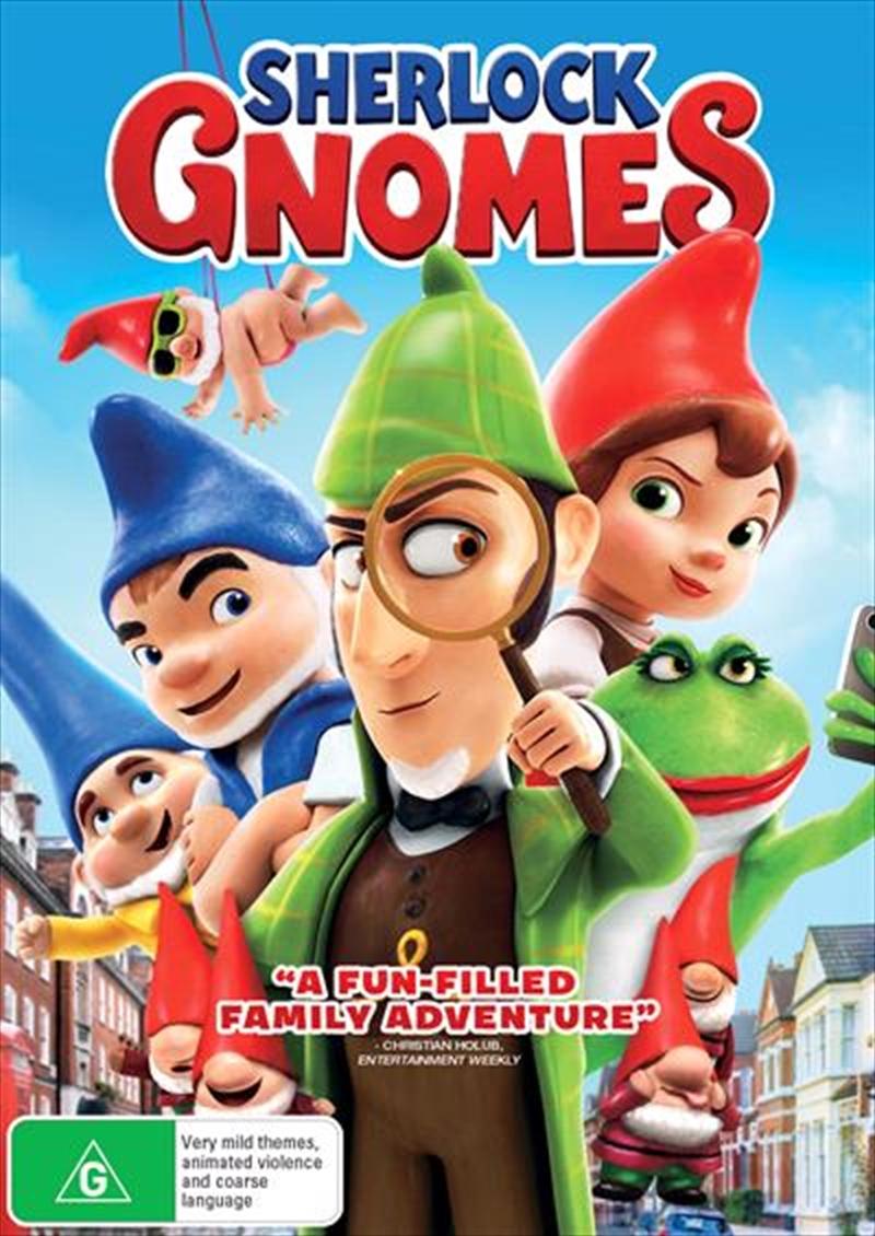 Sherlock Gnomes | DVD