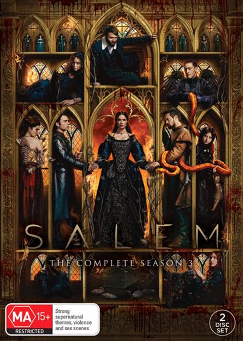 Salem - Season 3 | DVD
