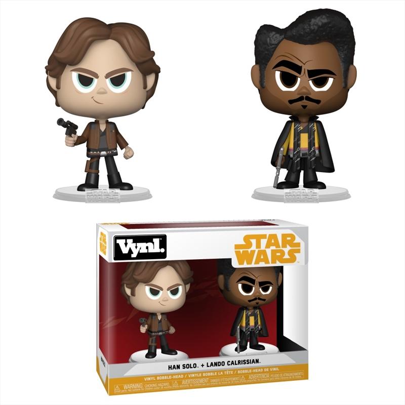 Star Wars Solo Pop! Han And Lando Vinyl   Pop Vinyl