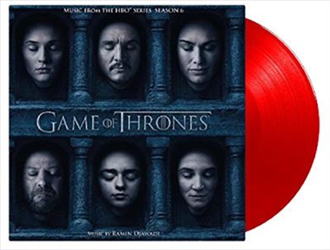 Game Of Thrones Season 6 - Limited Edition Red Vinyl | Vinyl
