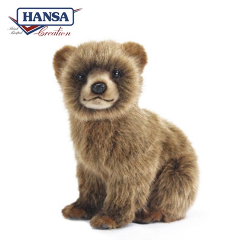Bear Cub Brown 24cm   Toy