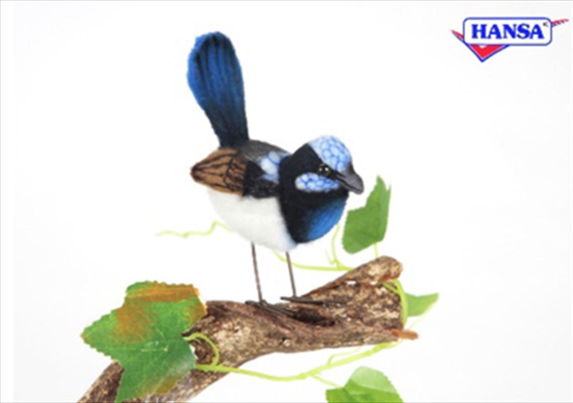 Blue Wren 7cm | Toy