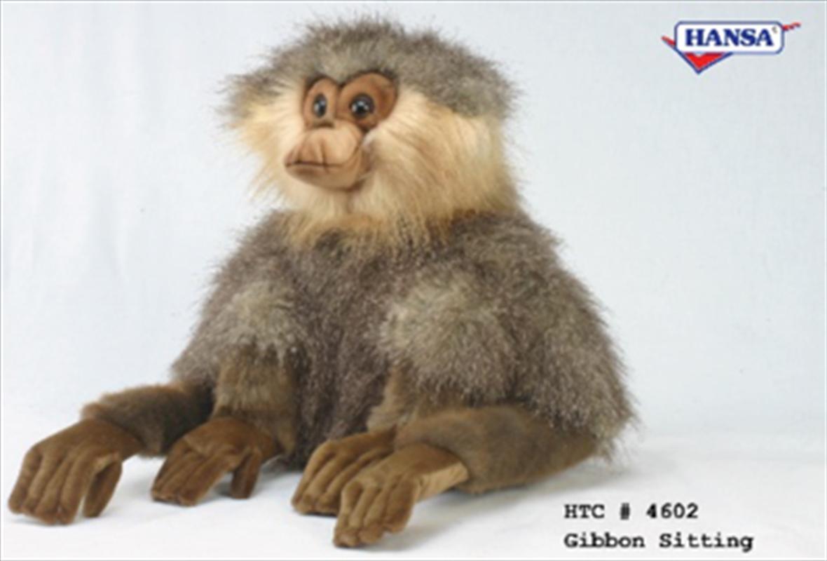 Gibbon Sitting 30cm   Toy