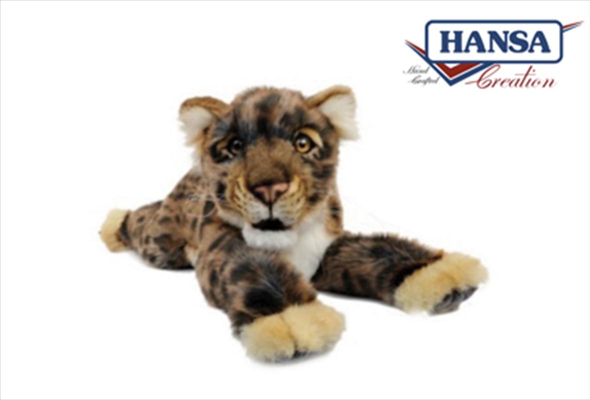 Leopard Cub Floppy 53cm | Toy
