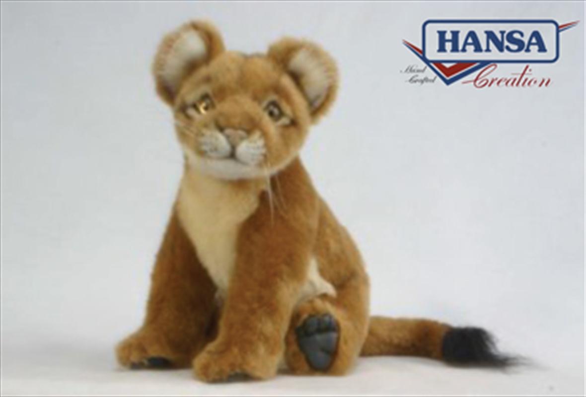 Lion Cub Sitting 25cm | Toy
