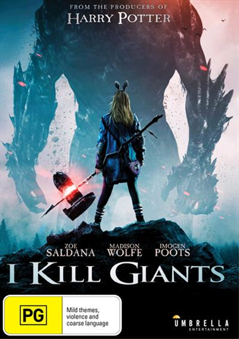 I Kill Giants | DVD