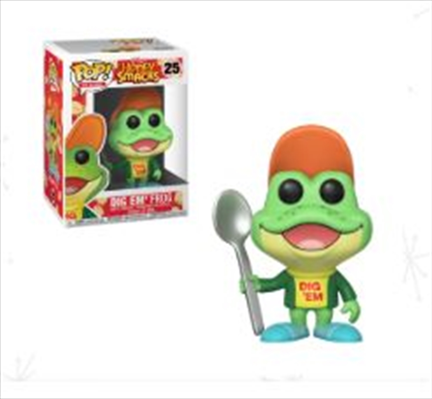 Dig 'Em Frog Ad Icons Pop! Vinyl   Pop Vinyl