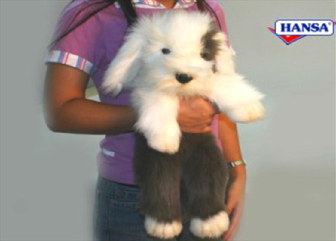 Sheepdog Pup Cuddly 50cm   Toy