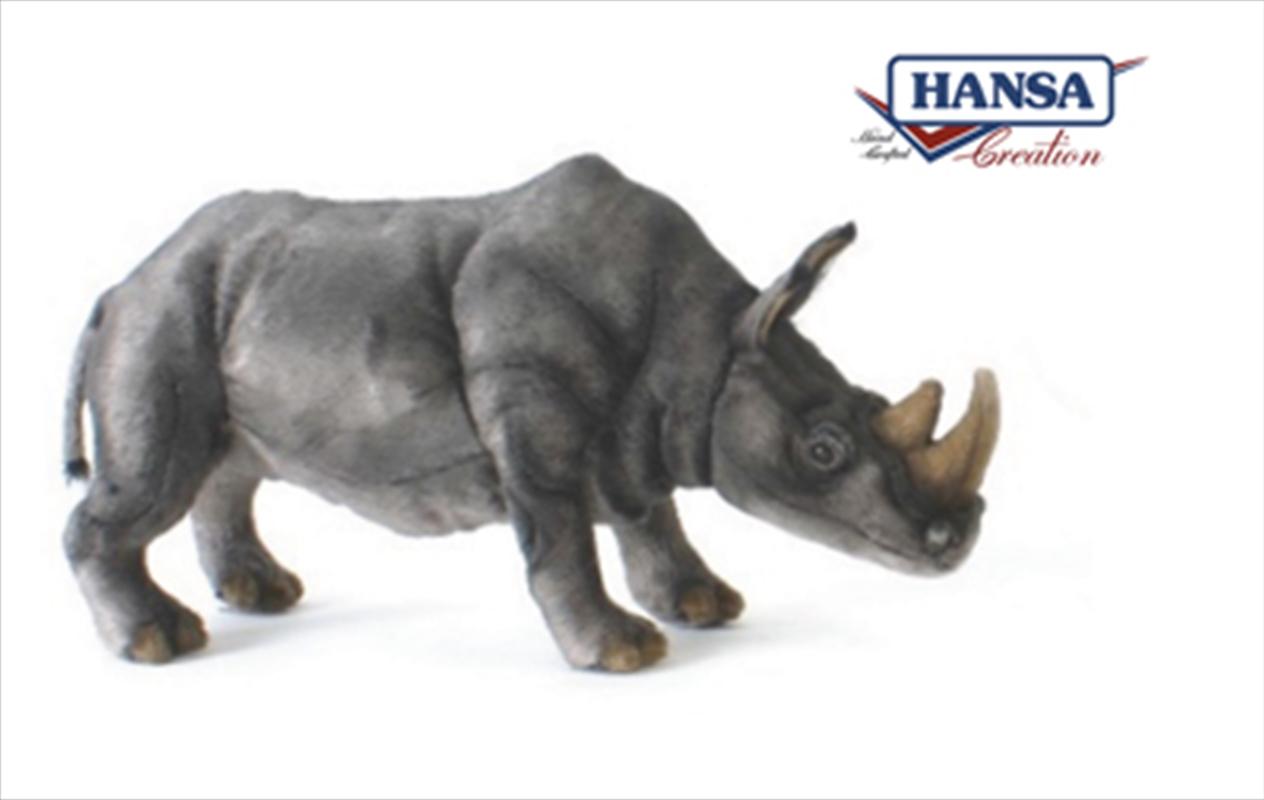 White Rhino 38cm   Toy