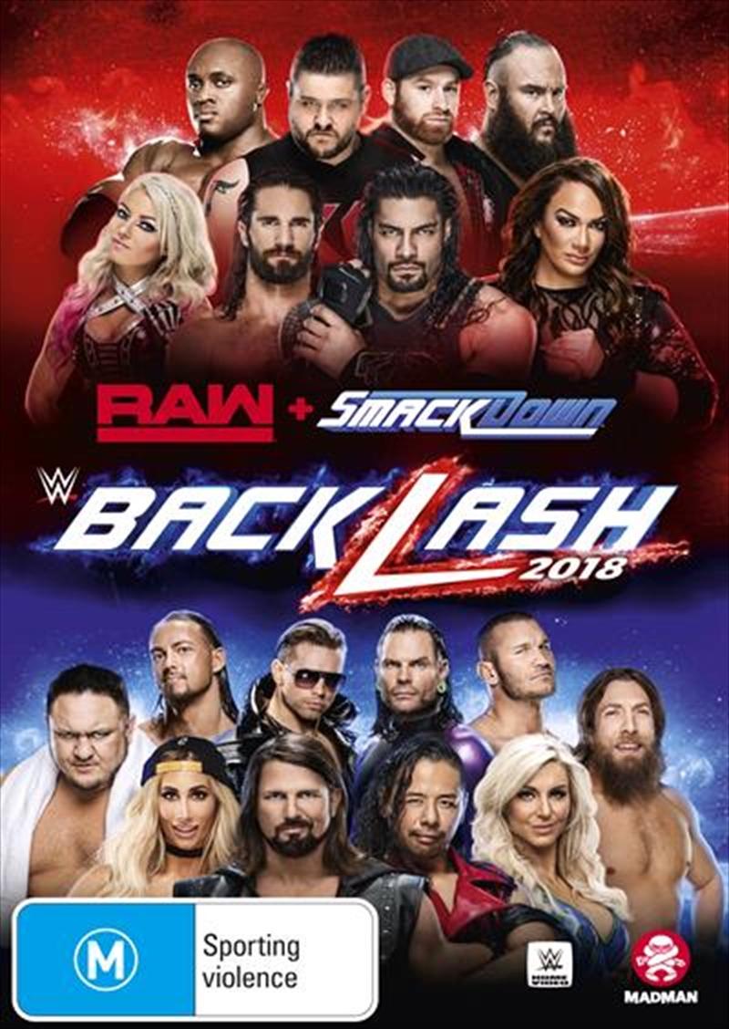 WWE - Backlash 2018 | DVD