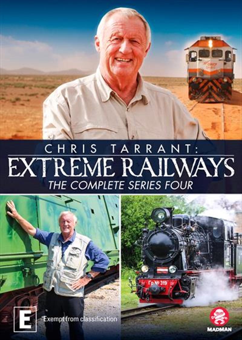 Chris Tarrant's Extreme Railways - Series 4 | DVD