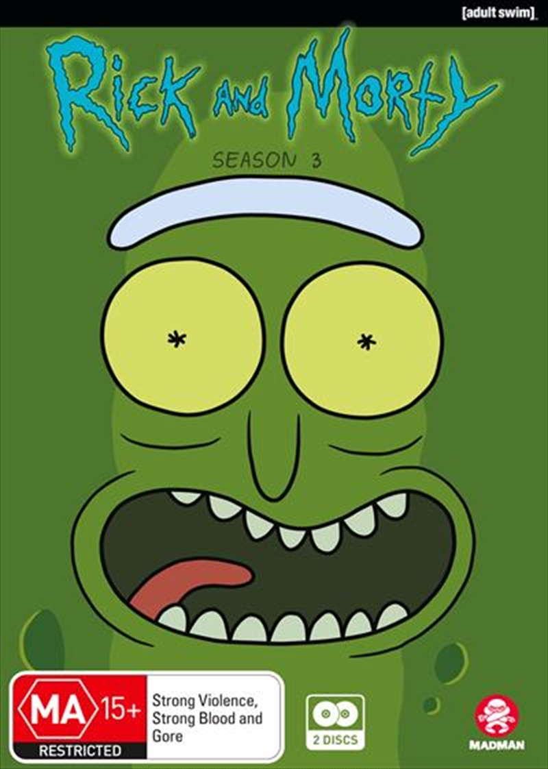 Rick And Morty - Season 3 | DVD