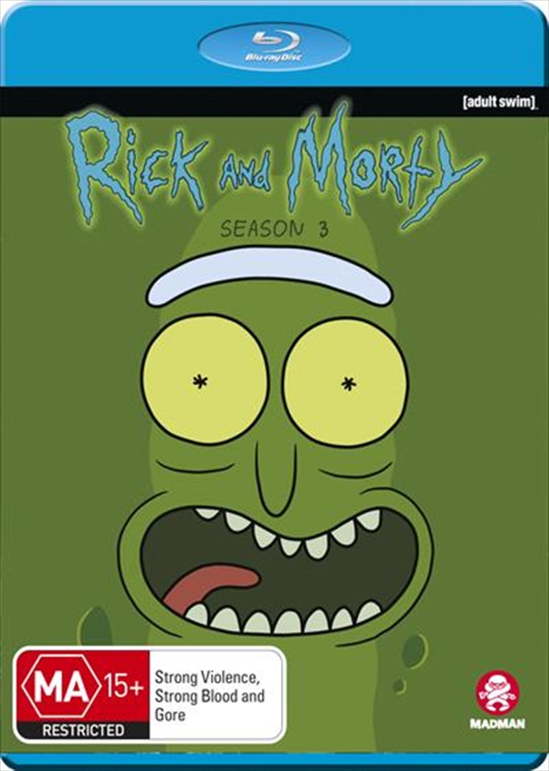 Rick And Morty - Season 3 | Blu-ray