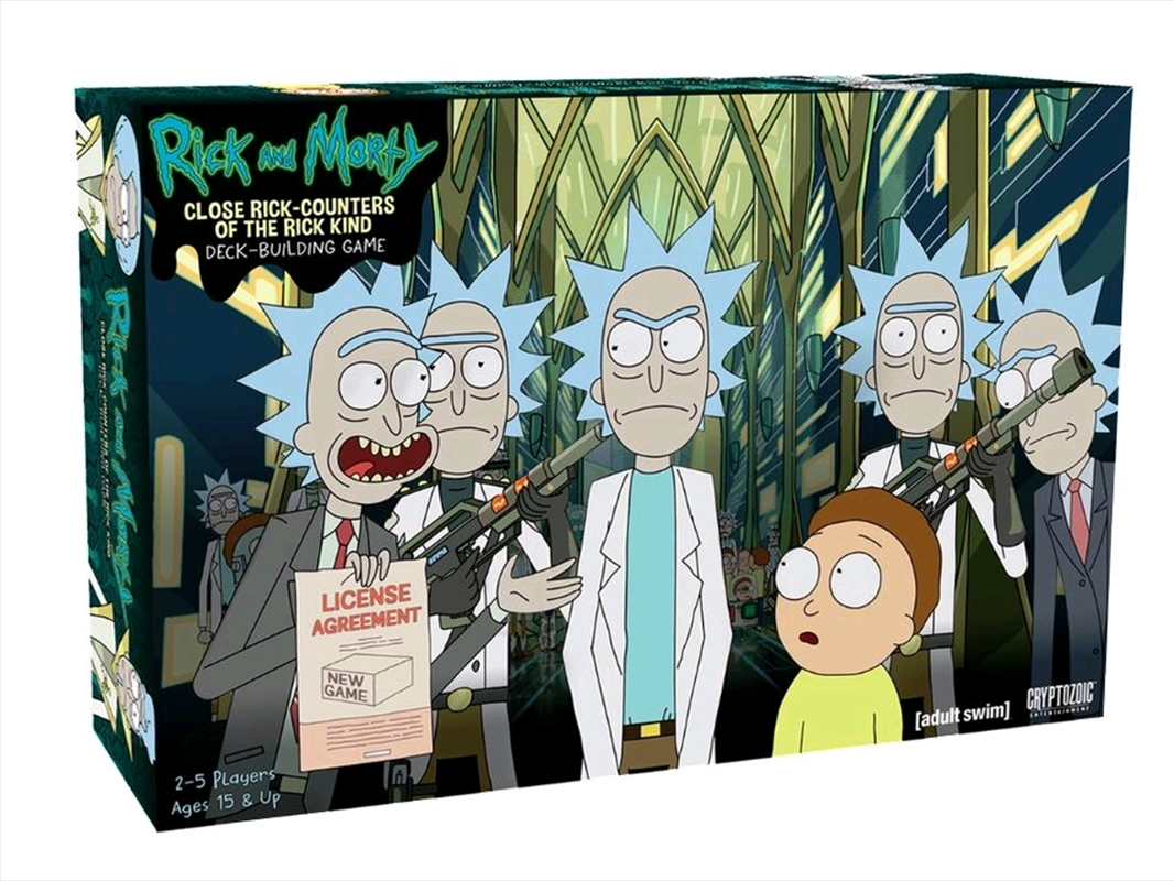 Rick and Morty - Close Rick-counters of the Rick Kind Deck-Building Game | Merchandise