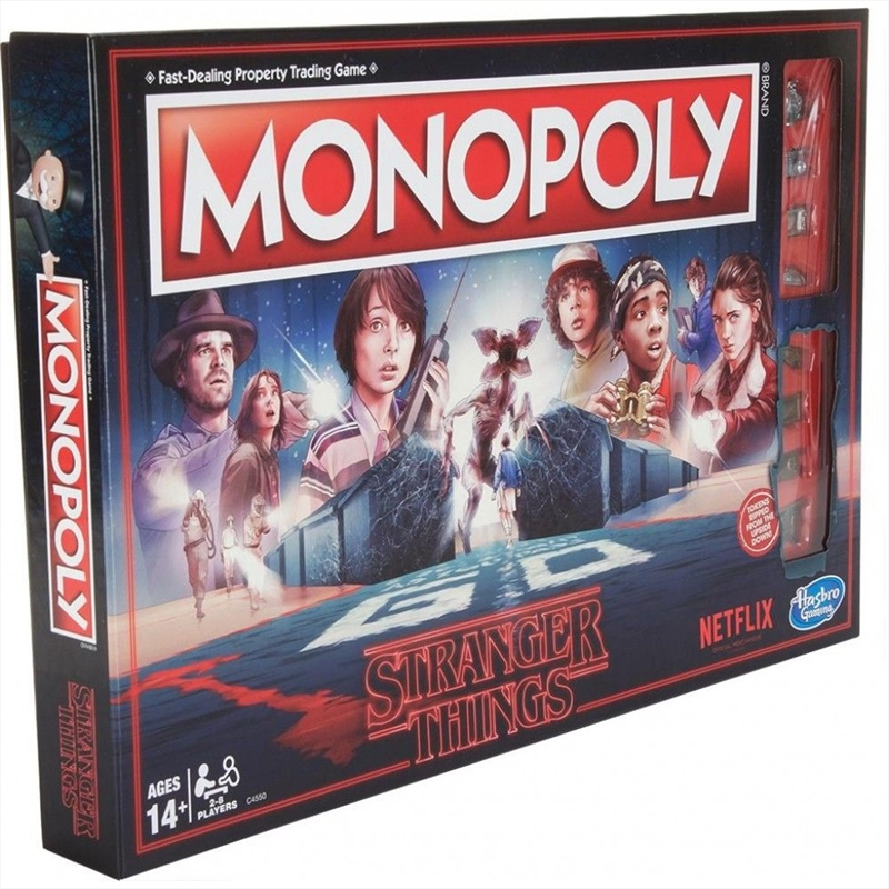 Stranger Things Edition Monopoly Board Game | Merchandise