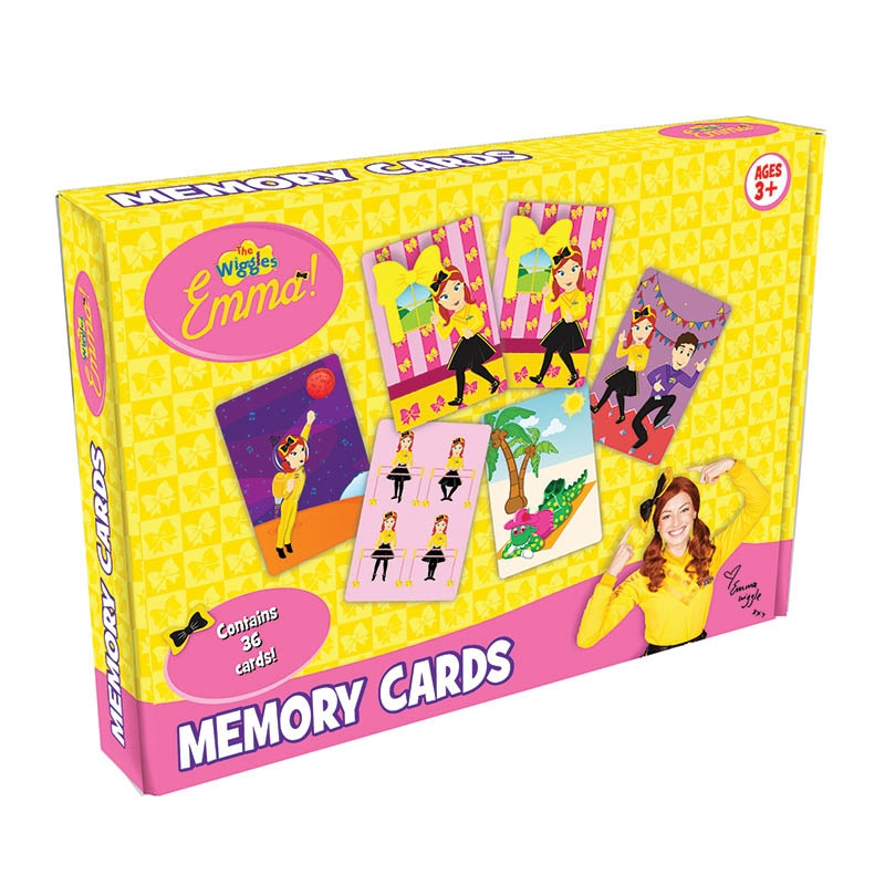 The Wiggles - Emma Memory Cards Game   Merchandise