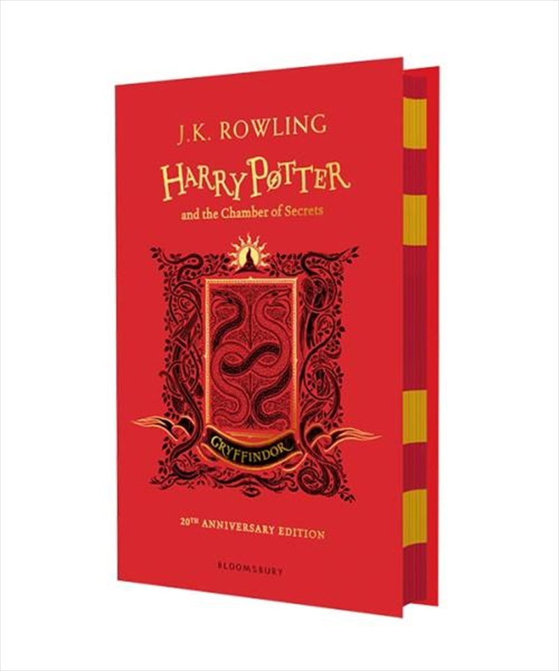 Harry Potter and the Chamber of Secrets - Gryffindor Edition | Hardback Book