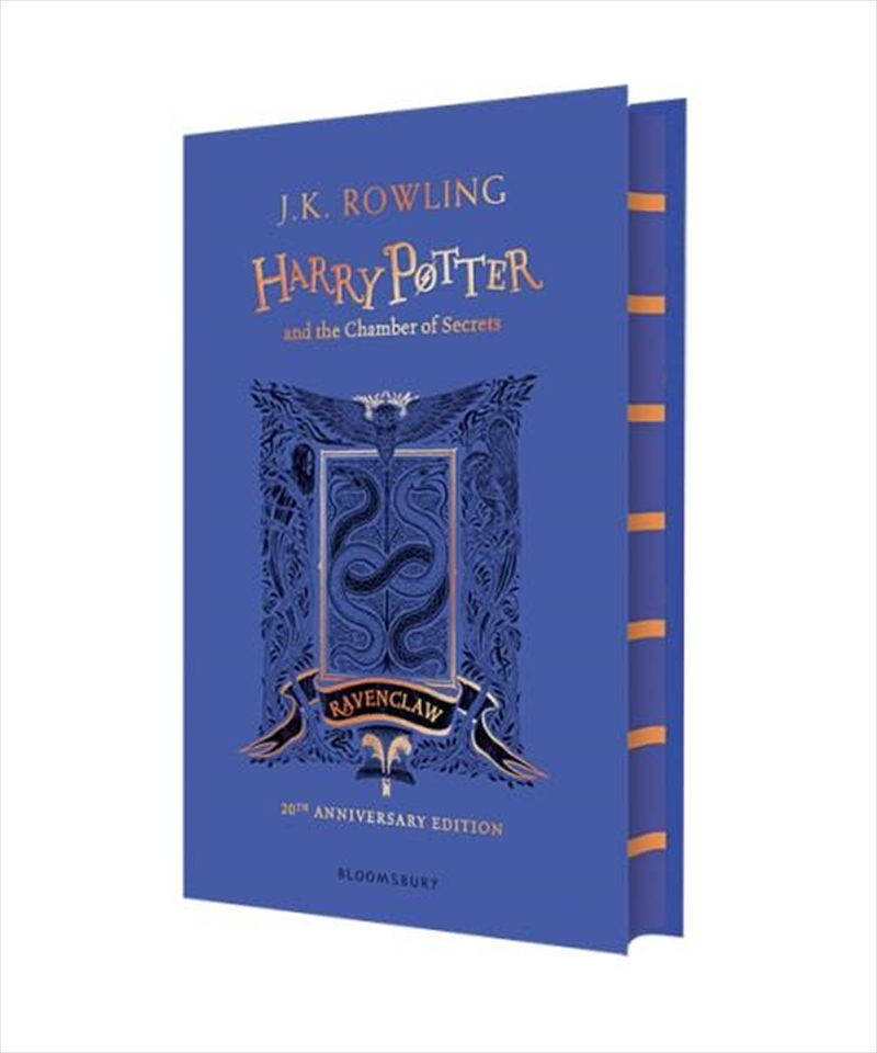 Harry Potter and the Chamber of Secrets - Ravenclaw Edition | Hardback Book