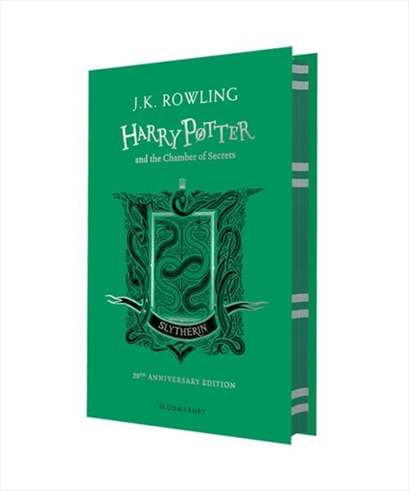 Harry Potter and the Chamber of Secrets - Slytherin Edition | Hardback Book