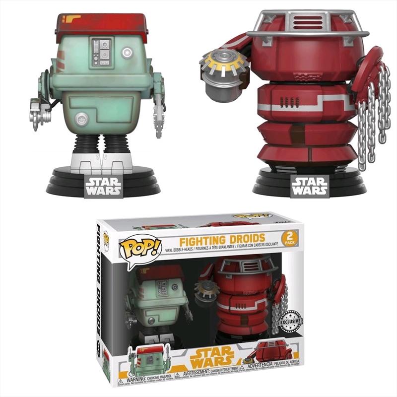 Star Wars: Solo - Fighting Droids US Exclusive Pop! Vinyl 2-pack   Pop Vinyl