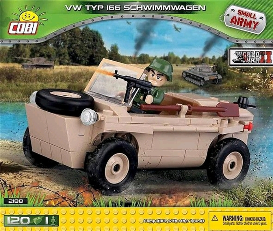 Small Army - 120 piece VW Type 166 Schwimmwagen | Miscellaneous