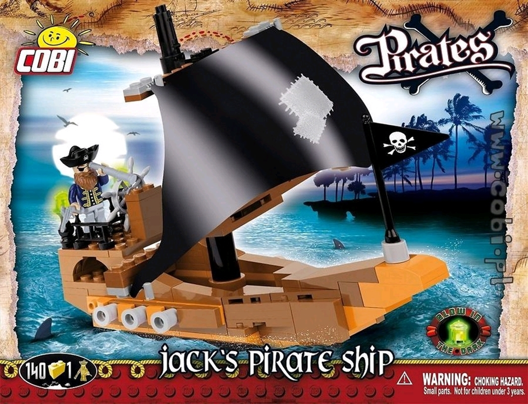 Pirates - 140 piece Jack's Pirate Ship | Miscellaneous