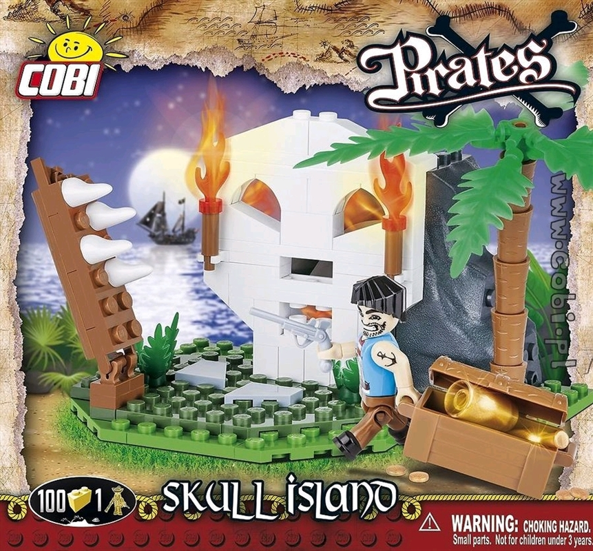 Pirates - 100 piece Skull Island | Miscellaneous