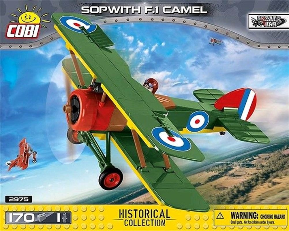 Great War - 170 piece Sopwith F.1 Camel | Miscellaneous
