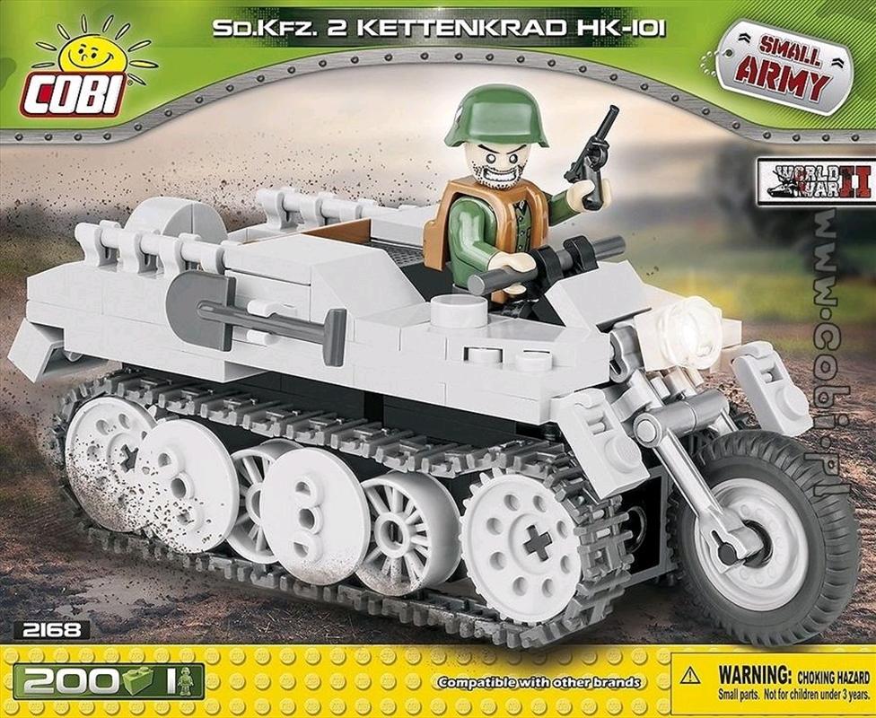 Small Army - 200 piece Sd.Kfz 2 Kettenrad HK-101 | Miscellaneous