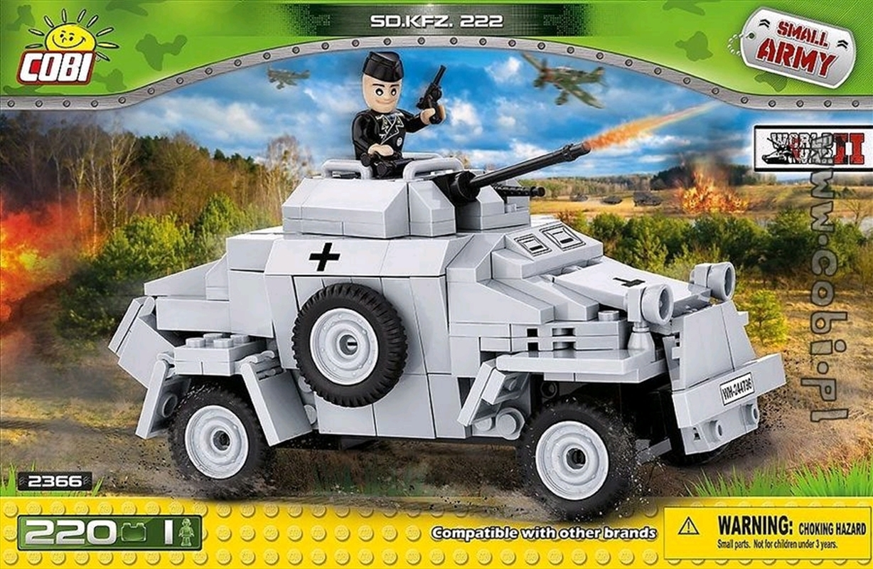 Small Army - 220 piece Sd.Kfz.222 | Miscellaneous